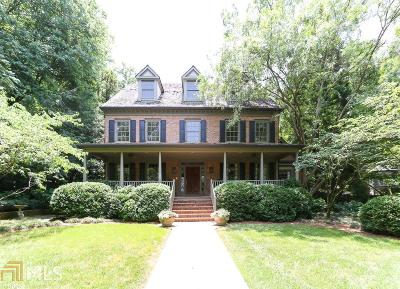 Roswell, Sandy Springs Single Family Home For Sale: 40 Old Vermont Pl
