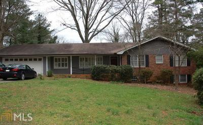 Tucker Single Family Home Under Contract: 2558 Lucky Valley Dr