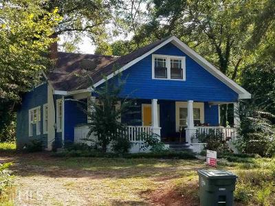 Griffin Single Family Home For Sale: 928 W Poplar St