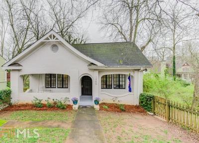 Atlanta Single Family Home New: 1265 Hosea Williams Dr