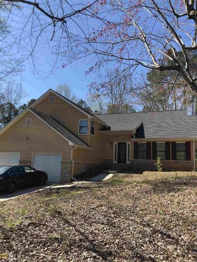 Douglasville Single Family Home Under Contract: 9915 Scarlet Oak Dr