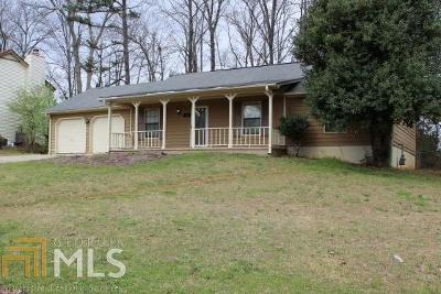 Clayton County Single Family Home Under Contract: 30 Rivercrest Dr