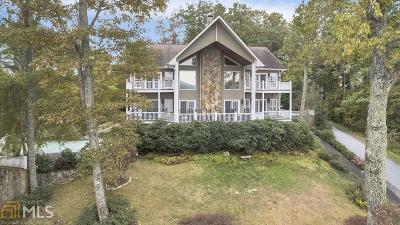 Rabun County Single Family Home New: 2255 Ridgepole Dr