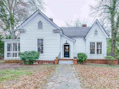 Barnesville Single Family Home Under Contract: 149 Holmes St