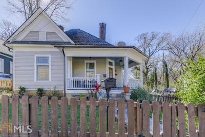 Single Family Home New: 499 Glenwood Ave