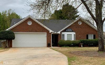 Conyers Single Family Home New: 3501 Tiffany Dr #1