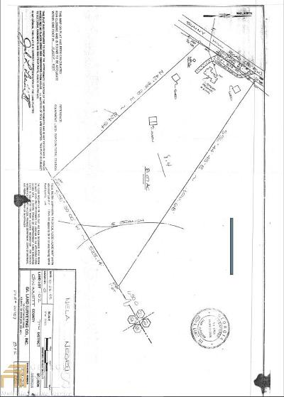 Lawrenceville Residential Lots & Land For Sale: 2199 Sunny Hill