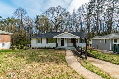 Decatur Single Family Home Under Contract: 2091 Cherry