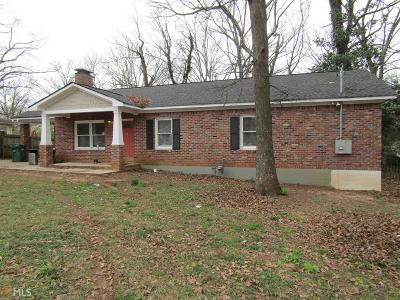 Decatur Single Family Home Under Contract: 1347 Dorothy Dr
