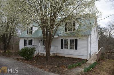 Clarkesville Single Family Home For Sale: 1000 Preacher Campbell Rd