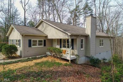 Dahlonega Single Family Home Under Contract: 102 Hickory Ln #10