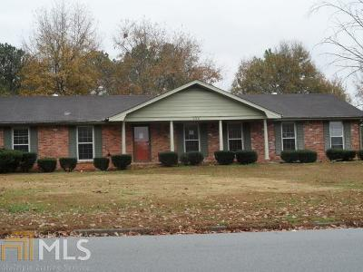 Conyers Single Family Home New: 599 SE Honey Creek