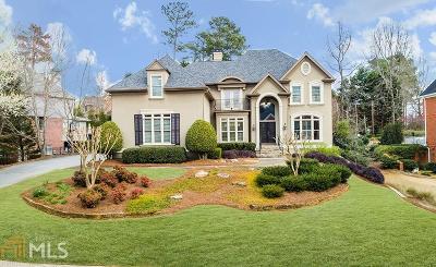 Alpharetta Single Family Home Under Contract: 10085 High Falls Pt
