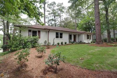 Buckhead Single Family Home New: 3606 Habersham Rd