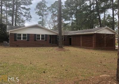 Statesboro Single Family Home New: 31 Jef Rd