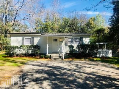 Milledgeville Single Family Home Under Contract: 820 Oak Haven Dr