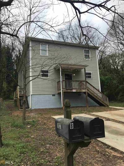 Fulton County Multi Family Home New: 1027 Dovers Alley