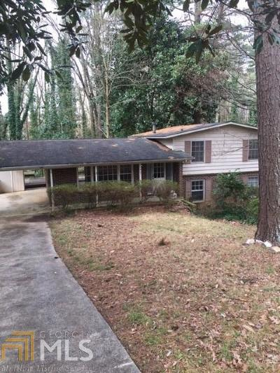 Chamblee Single Family Home New: 3610 Cold Spring Ln