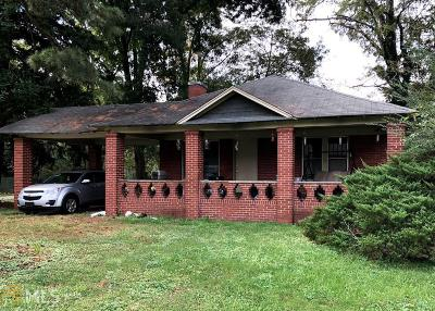 Cobb County Single Family Home Under Contract: 5450 Church
