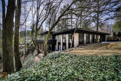 Buckhead Single Family Home New: 5190 Vernon Springs Trl