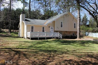 Douglasville Single Family Home Under Contract: 4887 Starboard Ct