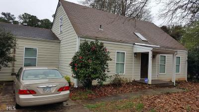 Jonesboro Single Family Home New: 741 Dixon Rd