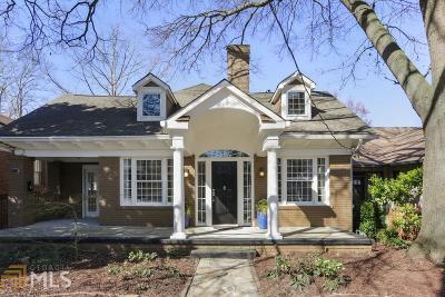 Virginia Highland Single Family Home Under Contract: 1218 Monroe Dr