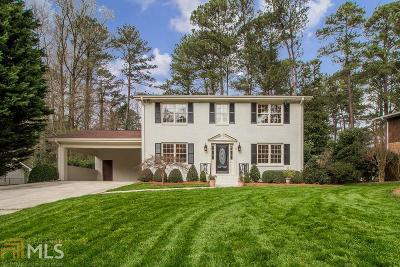 Dunwoody Single Family Home New: 4814 Springfield Dr