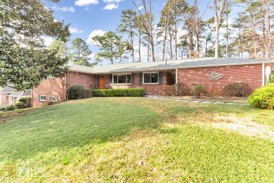 Atlanta Single Family Home New: 1548 Mason Mill Rd