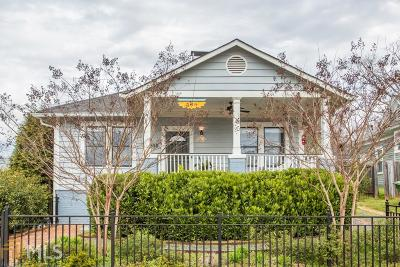 Grant Park Single Family Home Under Contract: 288 Augusta Ave