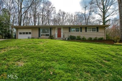 Chamblee Single Family Home Under Contract: 3934 Captain Dr