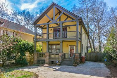 Decatur Single Family Home For Sale: 1547 Carter Rd