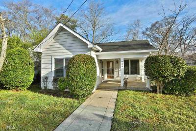 College Park Single Family Home New: 1627 Walker Ave