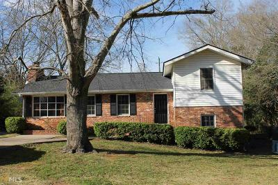 Griffin Single Family Home Under Contract: 641 Windy Hill Rd
