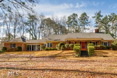 Villa Rica Single Family Home Under Contract: 546 Leslie Dr