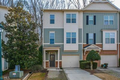 Kennesaw Condo/Townhouse Under Contract: 1764 Oakbrook Ln #10