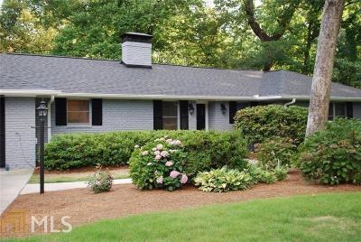 Atlanta Single Family Home New: 285 Elden Dr
