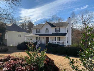 Douglasville Single Family Home Under Contract: 6868 Robinwood Trl