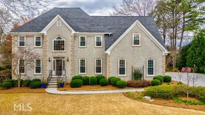 Roswell Single Family Home Under Contract: 12060 Wexford Outlook