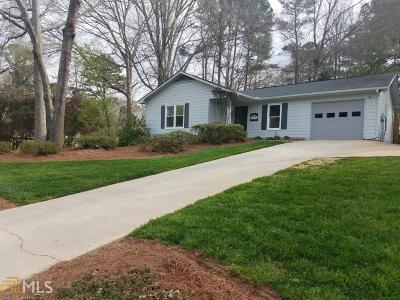 Peachtree City GA Single Family Home Under Contract: $225,000
