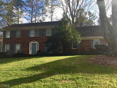 Dunwoody Single Family Home Under Contract: 5097 Meadowcreek Dr