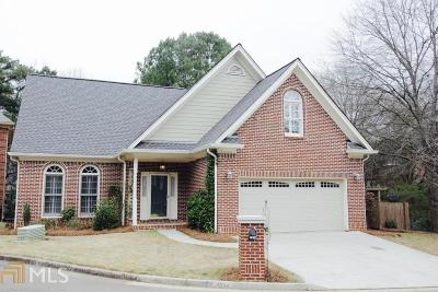 Tucker Single Family Home Under Contract: 2834 Livsey Woods Dr