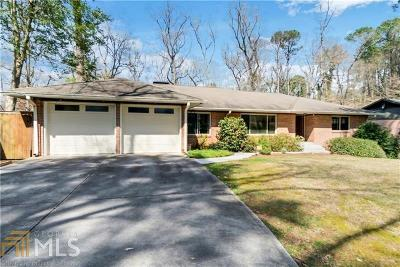 Buckhead Single Family Home New: 1375 Moores Mill Rd
