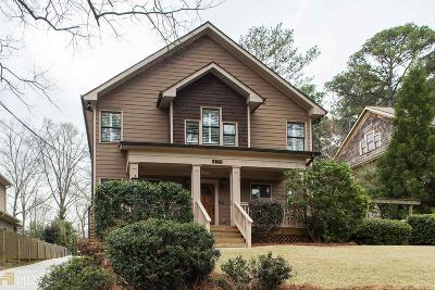 Decatur Single Family Home New: 479 Pensdale Rd