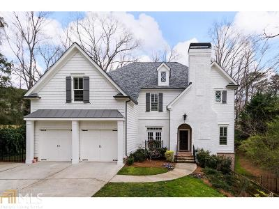 Brookhaven Single Family Home Under Contract: 1672 Runnymeade Rd