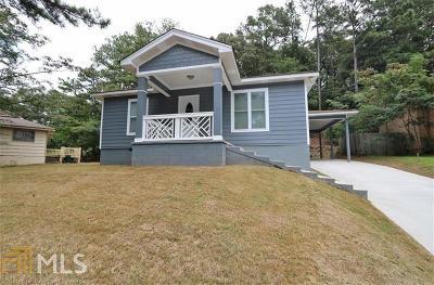 Marietta Single Family Home New: 460 Barnes Mill Dr