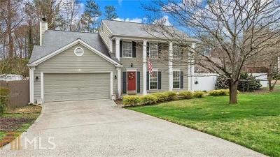 Johns Creek Single Family Home Under Contract: 105 Taylors Spring Court