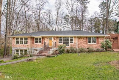Decatur Single Family Home Under Contract: 224 Harold Byrd Dr