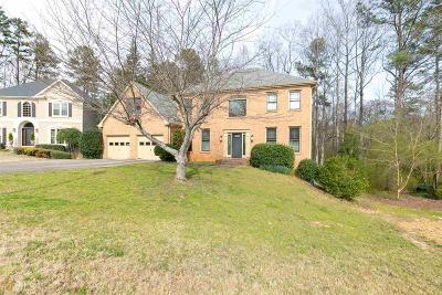 Suwanee Single Family Home For Sale: 105 Bent Oak Way