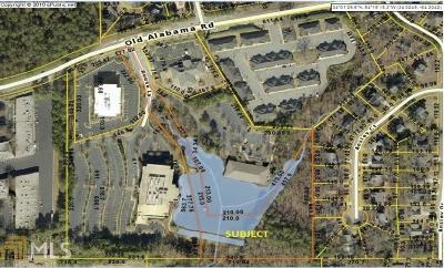 Roswell Commercial For Sale: 1835 Old Alabama Rd